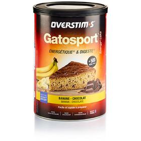 OVERSTIM.s Gatosport Preparato per torte 400g, Banana Chocolate